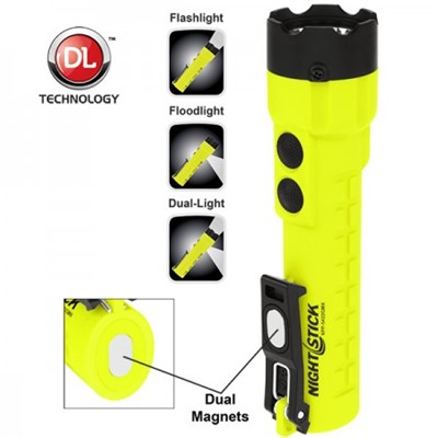 INTRINSICALLY SAFE FLASHLIGHT W/DUAL MAG