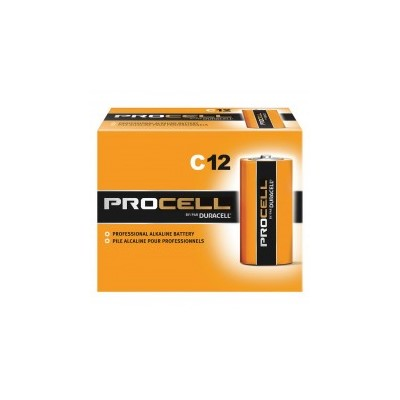 PROCELL C CELL BATTERY 12/PK
