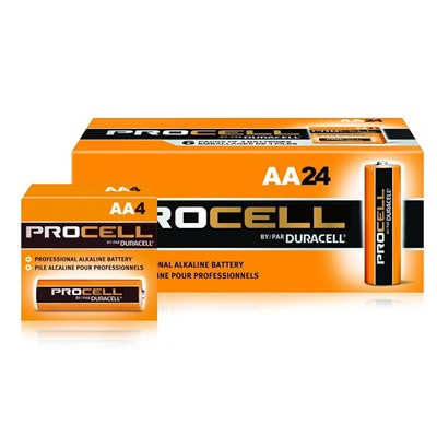PROCELL AA CELL BATTERY 24/PK