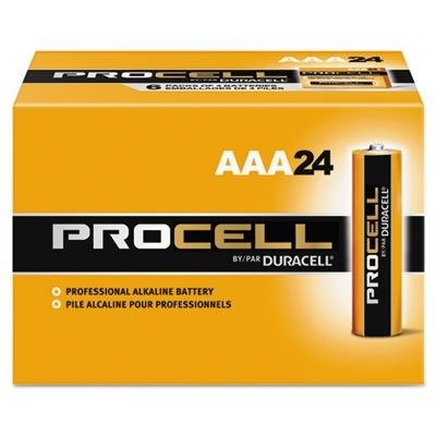 PROCELL AAA CELL BATTERY 24/PK