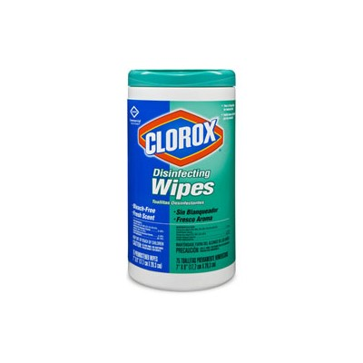 DISINFECTING WIPES 75PK 6PK/CS