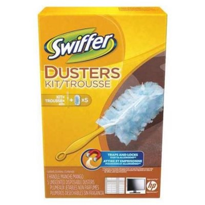 SWIFFER DUSTER KIT/HANDLES 9KT/CS
