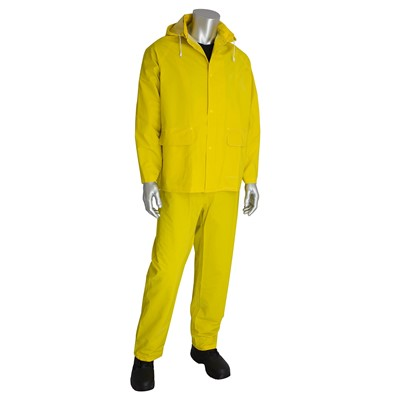 35MM YELLOW 3PC RAINSUIT