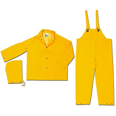 35MM YELLOW 3 PC RAINSUIT