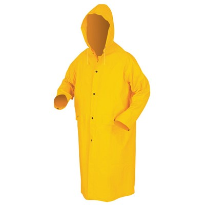 RAINCOAT 48 IN DET HD MED